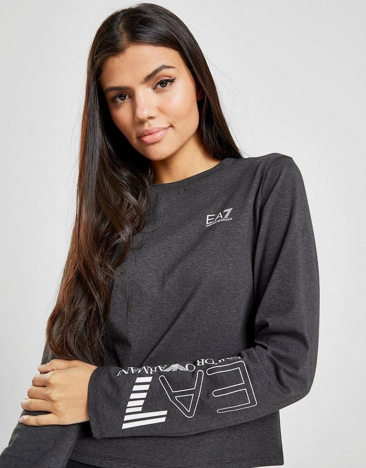 Emporio Armani EA7 Long Sleeve Logo T-Shirt