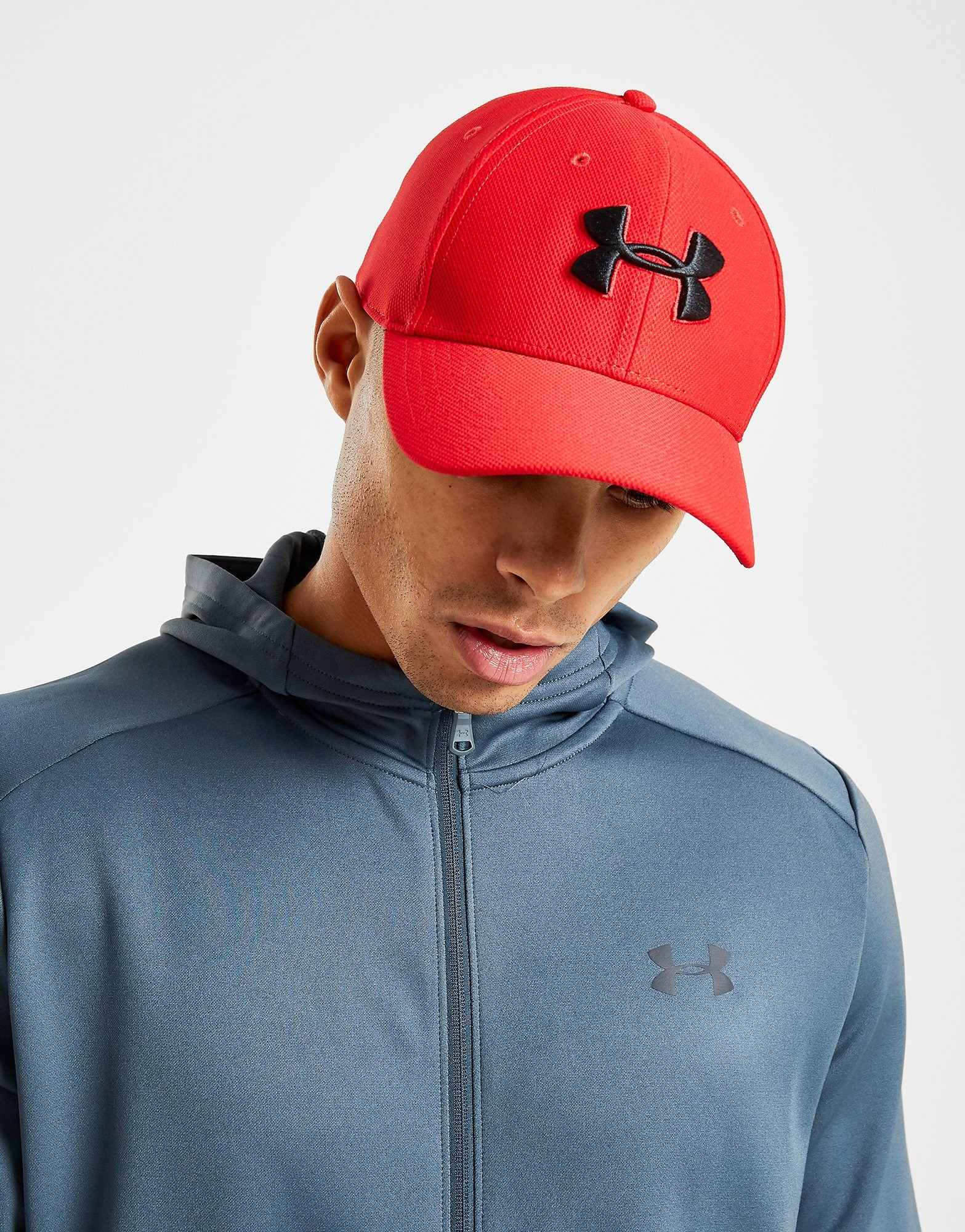 litro músico brindis  Red Under Armour Blitzing 3.0 Cap | JD Sports