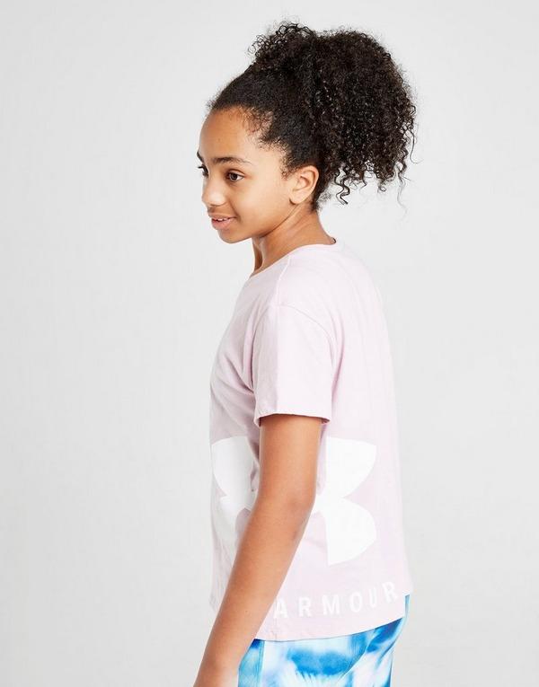Under Armour Girls' Sportstyle Crop T-Shirt Kinder