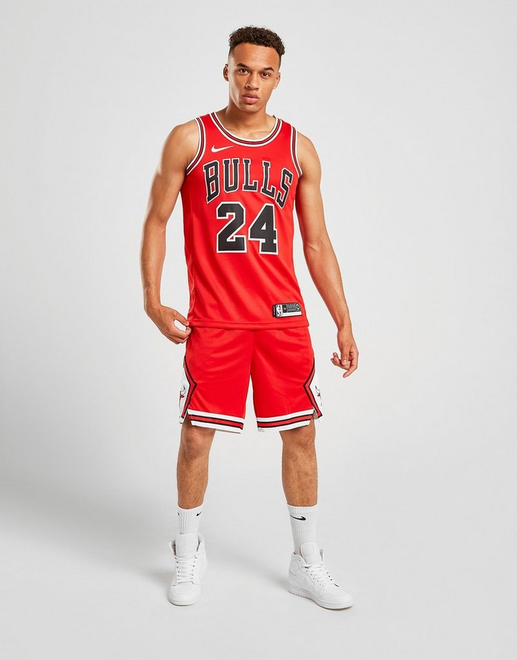 Nike Jersey NBA Chicago Bulls Swingman Markkanen #24 Homme