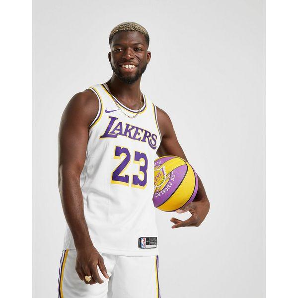 Nike LeBron James Association Edition Swingman (Los Angeles Lakers) Men's Nike NBA Connected Jersey