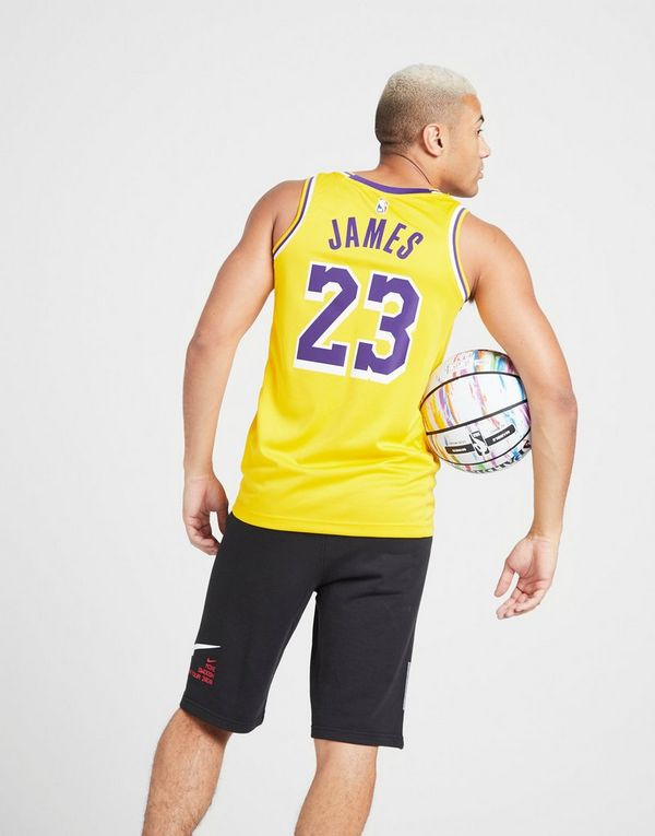 size 40 17b11 3de4a Nike LeBron James Association Edition Swingman (Los Angeles ...