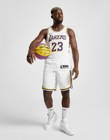 Nike Calções NBA Los Angeles Lakers Swingman