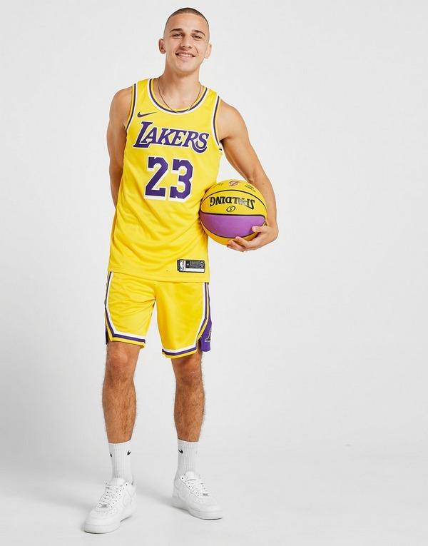 Nike Short NBA Los Angeles Lakers Swingman Homme