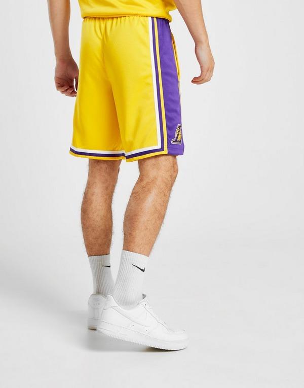 Nike NBA Los Angeles Lakers Swingman Shorts