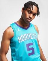 Jordan Maillot NBA Charlotte Hornets Batum #5 Swingman Homme
