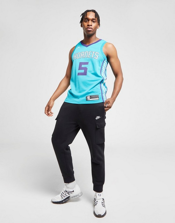 Jordan NBA Charlotte Hornets Batum #5 Swingman Jersey