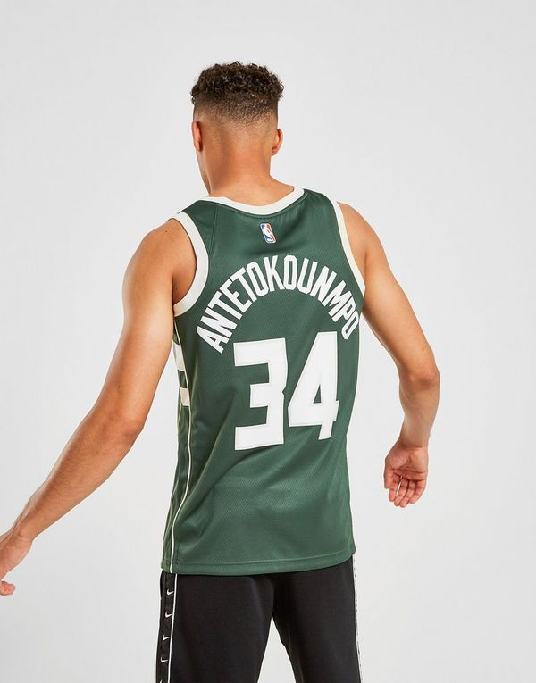 buy online 3bd67 6bc26 Nike NBA Milwaukee Bucks Swingman Giannis #34 Jersey | JD Sports
