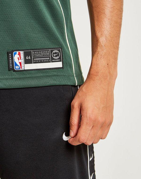 Nike Giannis Antetokounmpo Icon Edition Swingman (Milwaukee Bucks) Men's Nike NBA Connected Jersey