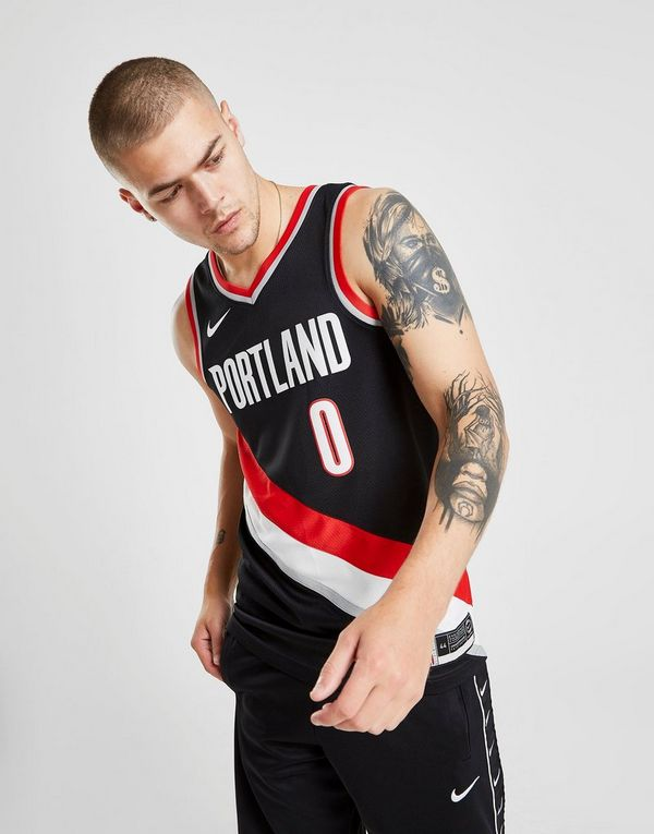 best loved f6e20 77bce Nike NBA Portland Trail Blazers Lillard #0 Jersey | JD Sports
