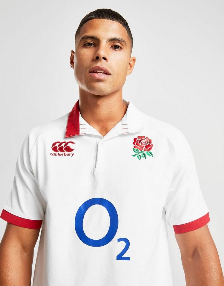 Canterbury England RFU Home 2019 Short Sleeve Classic Shirt