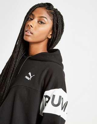 Puma XTG Colour Block Crop Hoodie