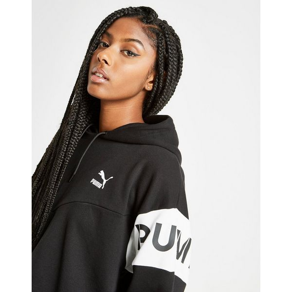 Puma XTG Colour Block Crop Hoodie