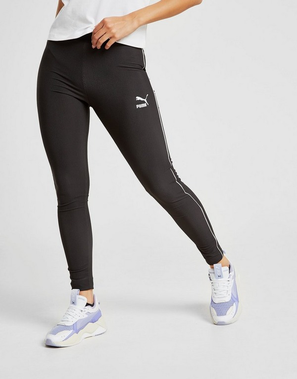 PUMA Classic Ribbed Leggings | JD Sports