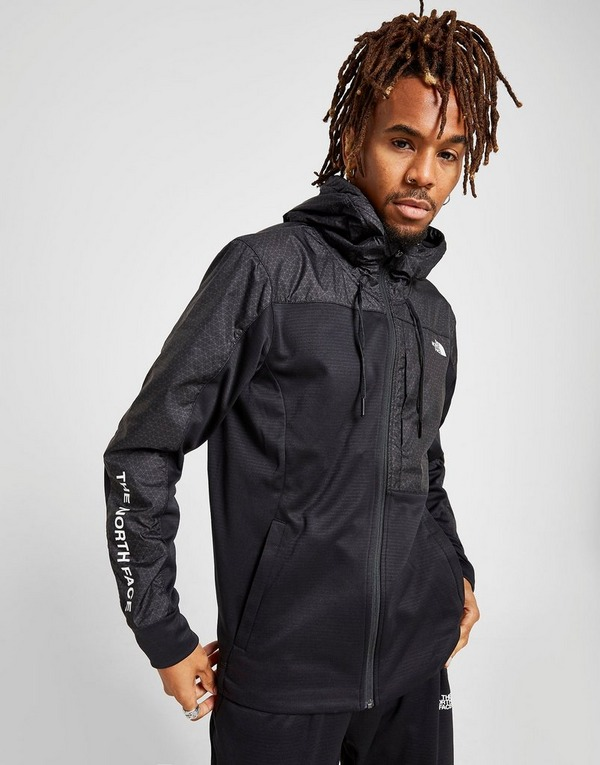 The North Face Full Zip Geo Woven Hoodie