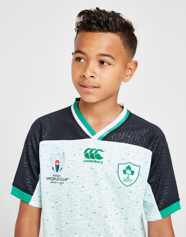 Canterbury Ireland RFU Rugby World Cup 2019 Shirt Junior