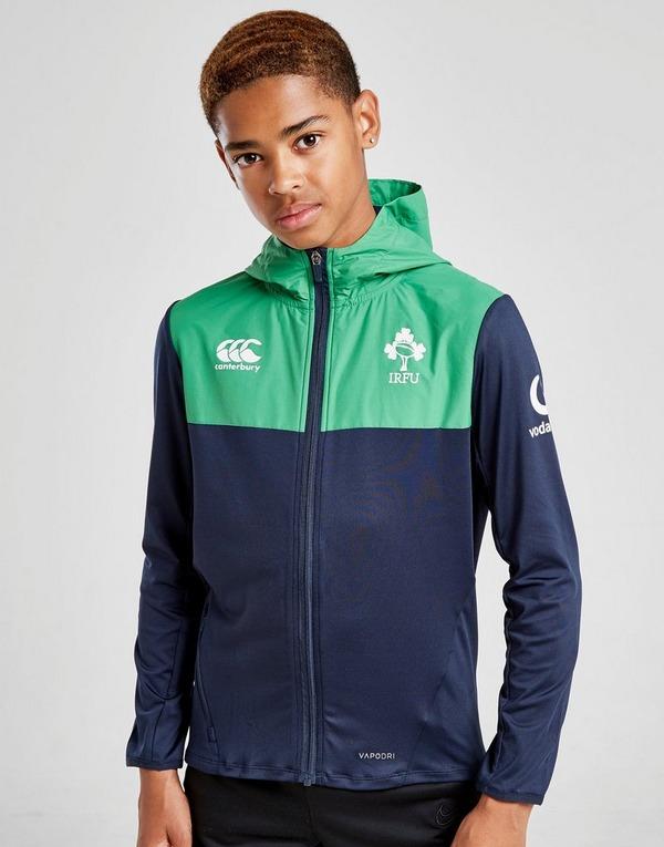 Canterbury Ireland RFU VapoDri Full Zip Hoodie Junior