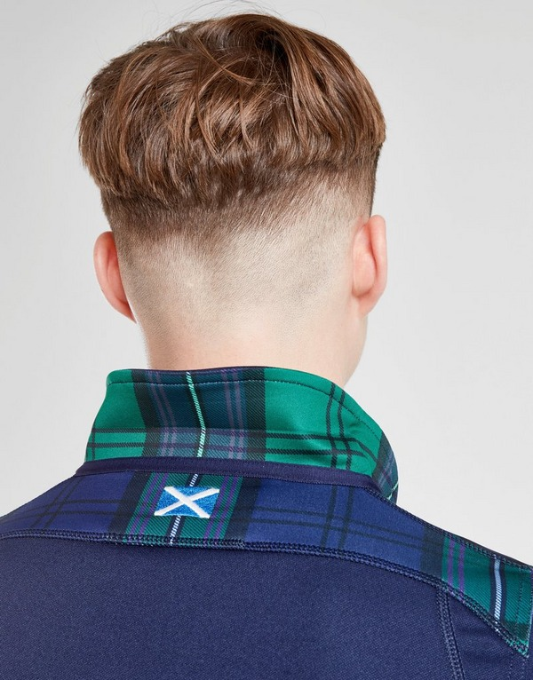 Macron Scotland RU 2019 Home Short Sleeve Shirt Junior