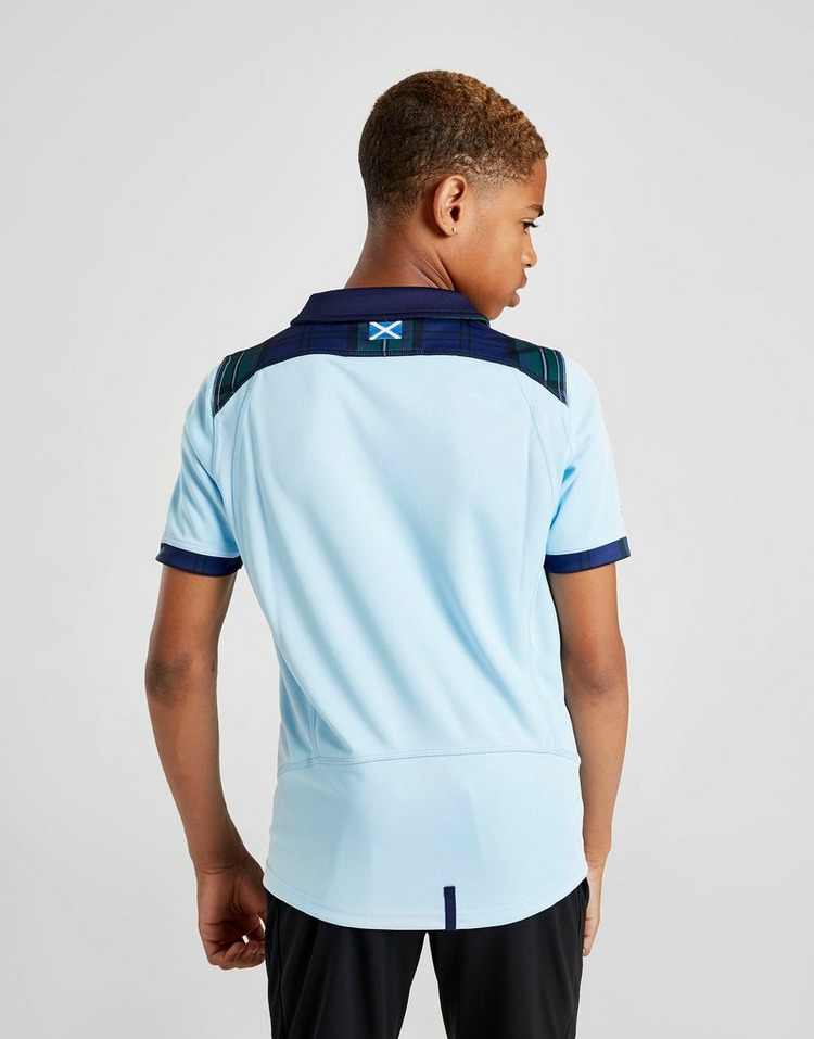 Macron Scotland RU 2019 Away Short Sleeve Shirt Junior