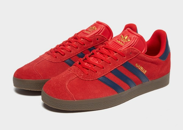 Koop Rood adidas Originals Gazelle Heren | JD Sports