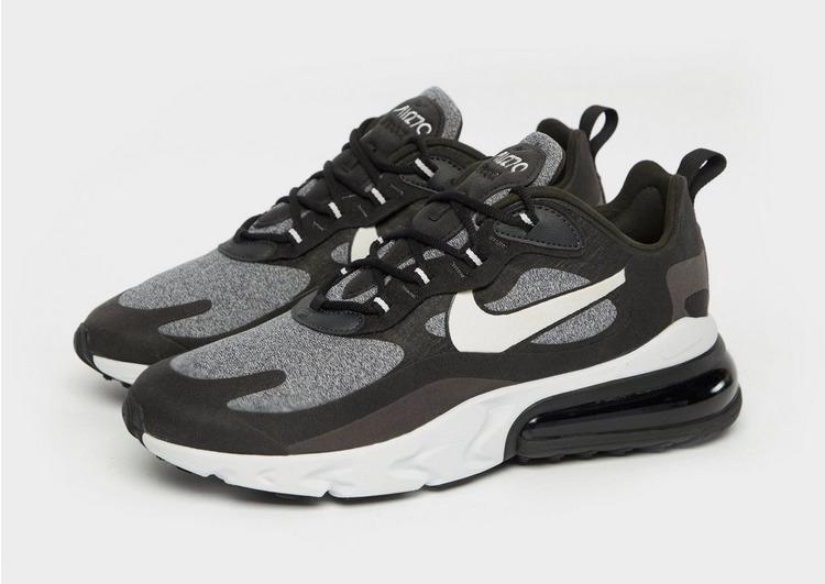 Buy Black Nike Air Max 270 React | JD Sports
