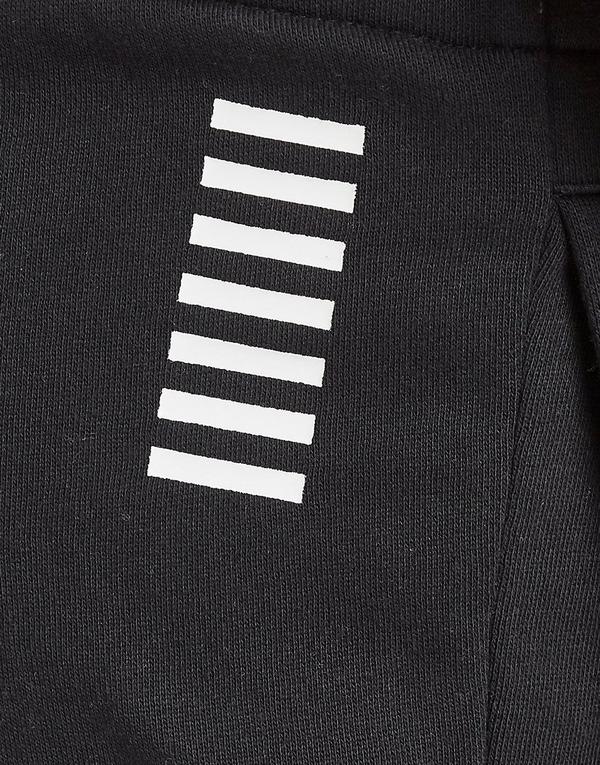Emporio Armani EA7 Rubber Logo Cuffed Fleece Joggers