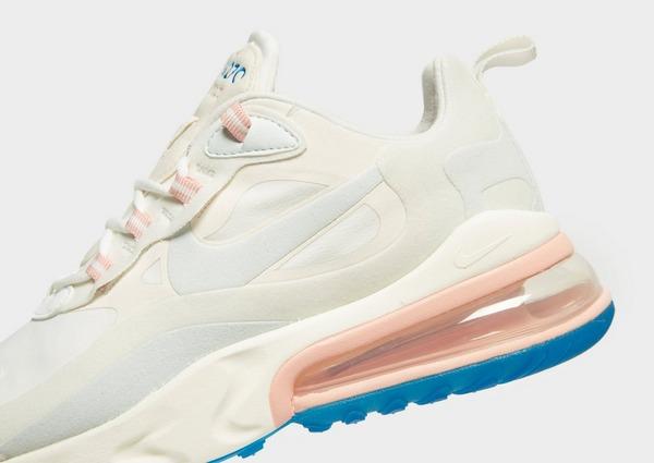 nike air max 270 mujer blanco y rosa