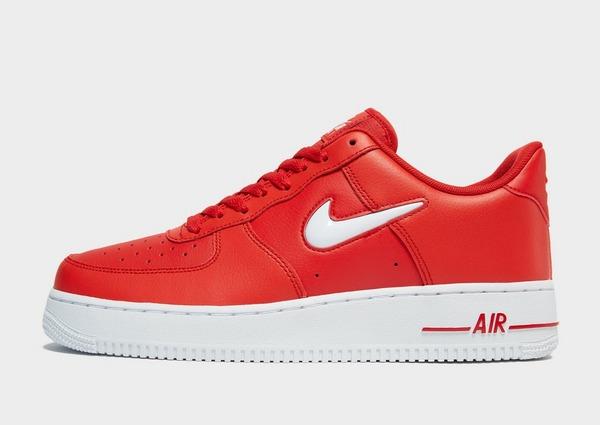 nike air force 1 blancas y rojas