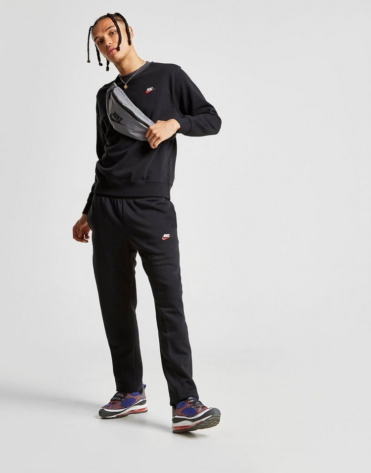 Buy Black Nike Foundation Crew Sweatshirt | JD Sports