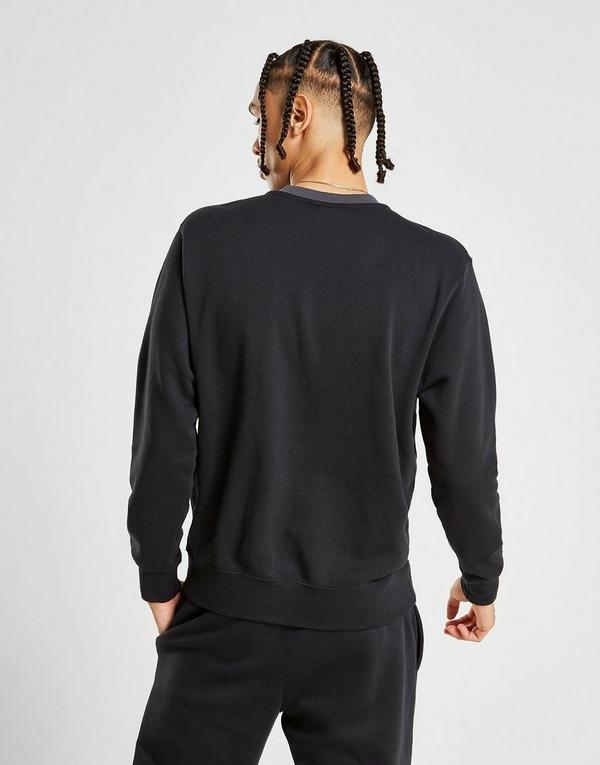 Nike Foundation Felpa A Girocollo Nero Abbigliamento in