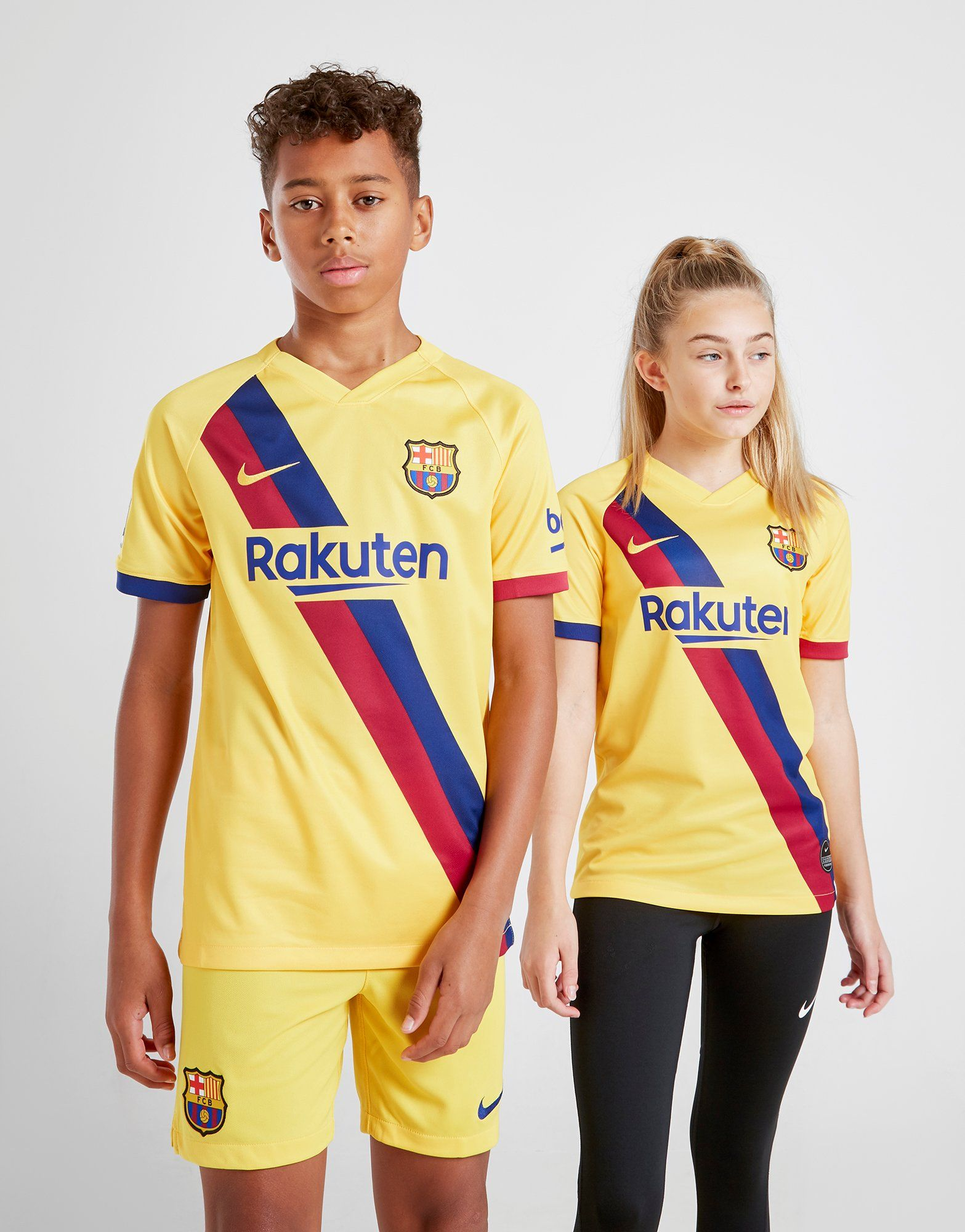 get cheap 73b63 20664 Nike FC Barcelona 2019/20 Away Shirt Junior | JD Sports