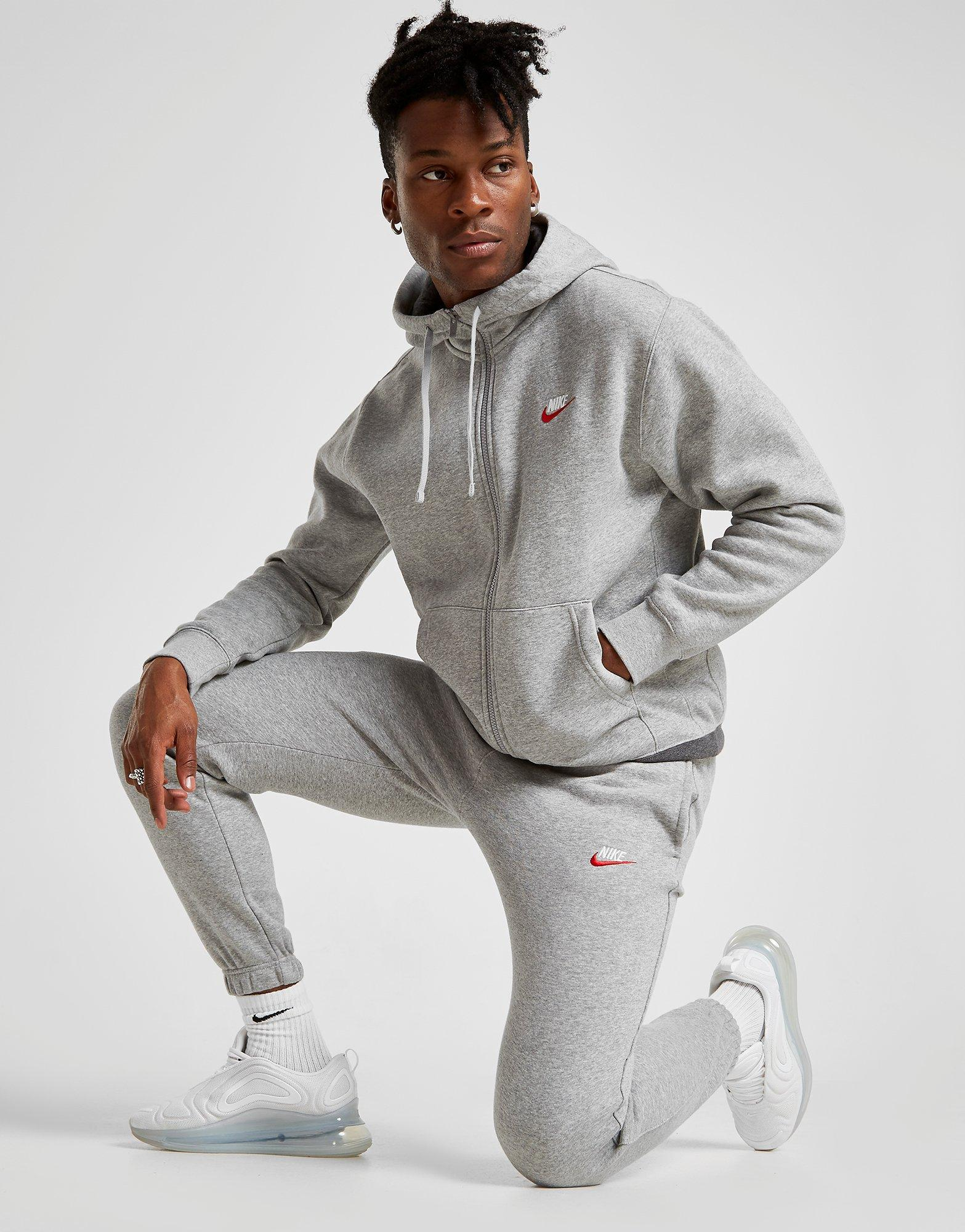 Acherter Gris Nike Jogging Foundation Molleton