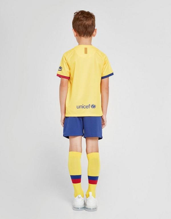 Nike conjunto FC Barcelona 2019/20 2.ª equipación infantil
