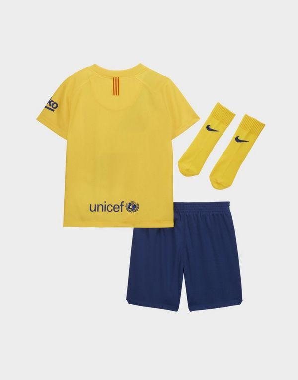 Nike conjunto FC Barcelona 2019/20 2.ª equipación para bebé