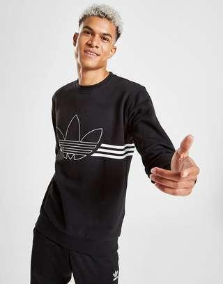 Adidas OUTLINE TREFOIL CREW FLEECE | Ultra Football