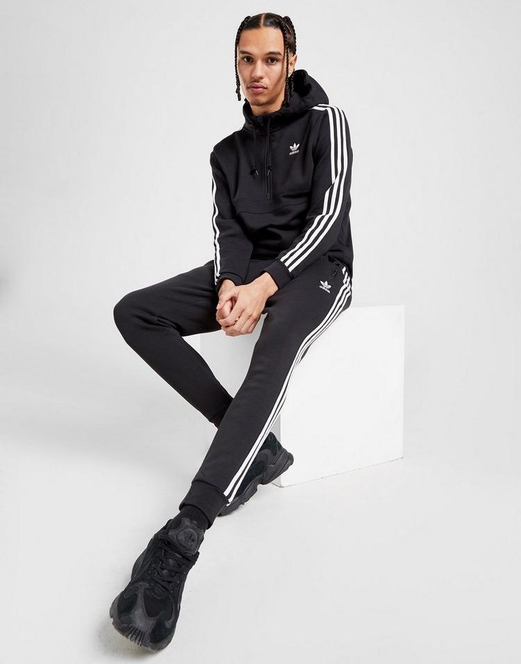 adidas Originals Camisola com Capuz 3-Stripe 1/2 Zip