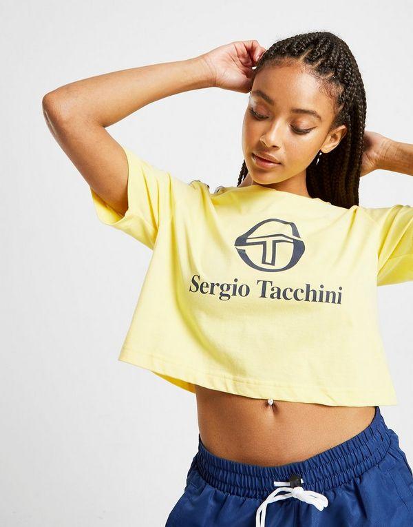Sergio Tacchini Tape Crop T-Shirt