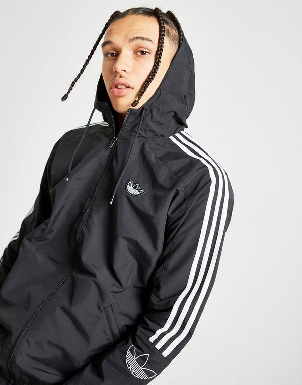 adidas Originals Outline Lightweight Windbreaker Jacket | JD