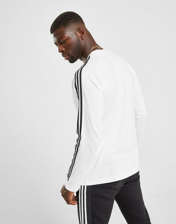 Acherter Blanc adidas Originals T Shirt Manches Longues
