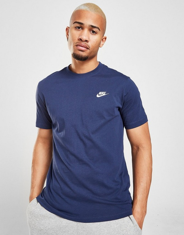 Køb Nike Core Logo T Shirt herre i Blå | JD Sports