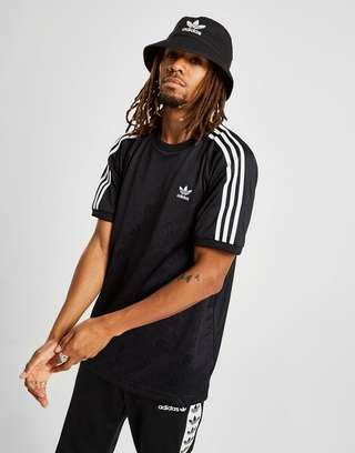 adidas Originals Monogram All Over Print T Shirt | JD Sports