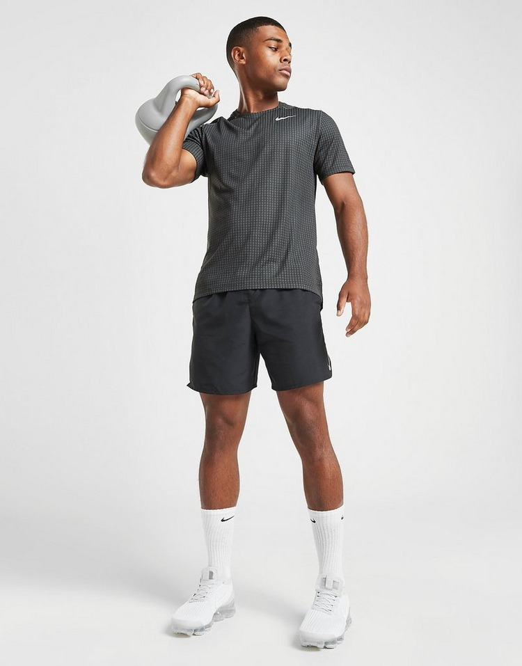 Nike Miler Grid Tech T-Shirt Herre