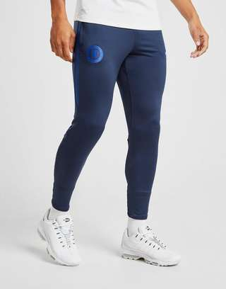Chelsea FC Official Soccer Gift Boys Slim Fit Fleece Joggers Jog Pants