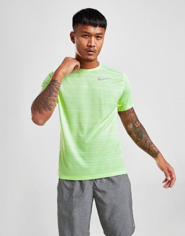 Nike Miler Short Sleeve T Shirt Herre