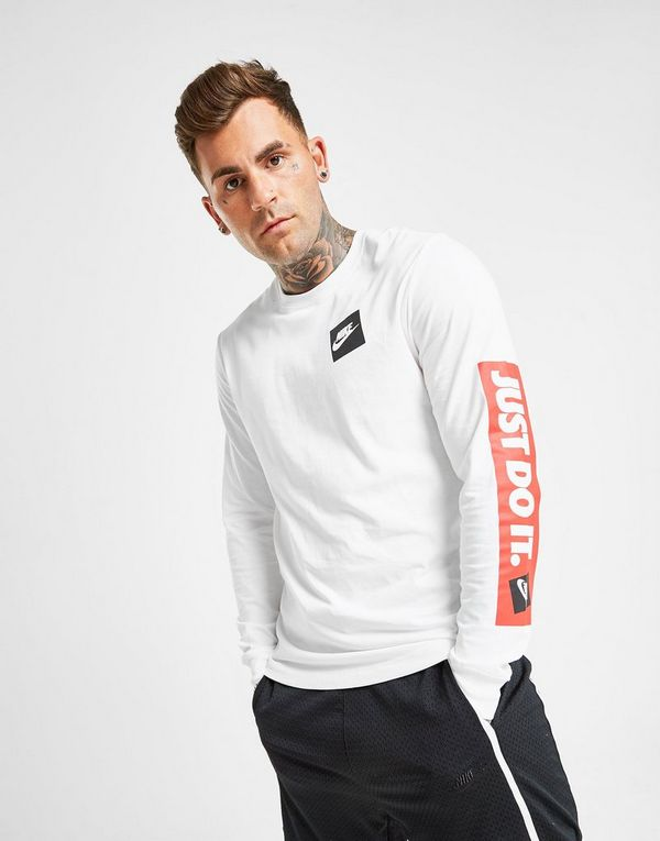 Nike Just Do It Boxed Long Sleeve T-Shirt