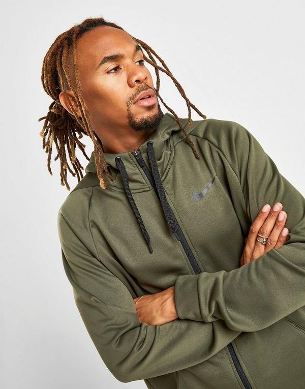 Køb Nike Training Poly Hoodie Herre i Grøn | JD Sports