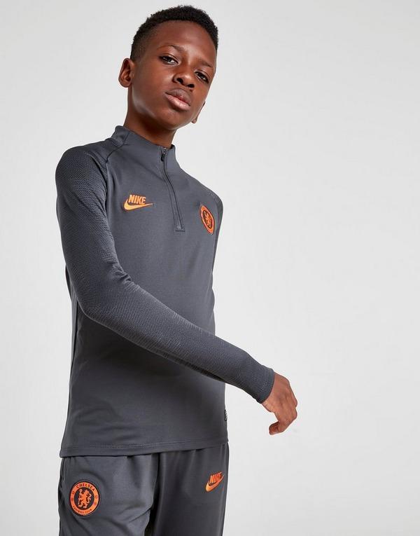 Nike camiseta de manga larga Chelsea FC Srike Drill júnior