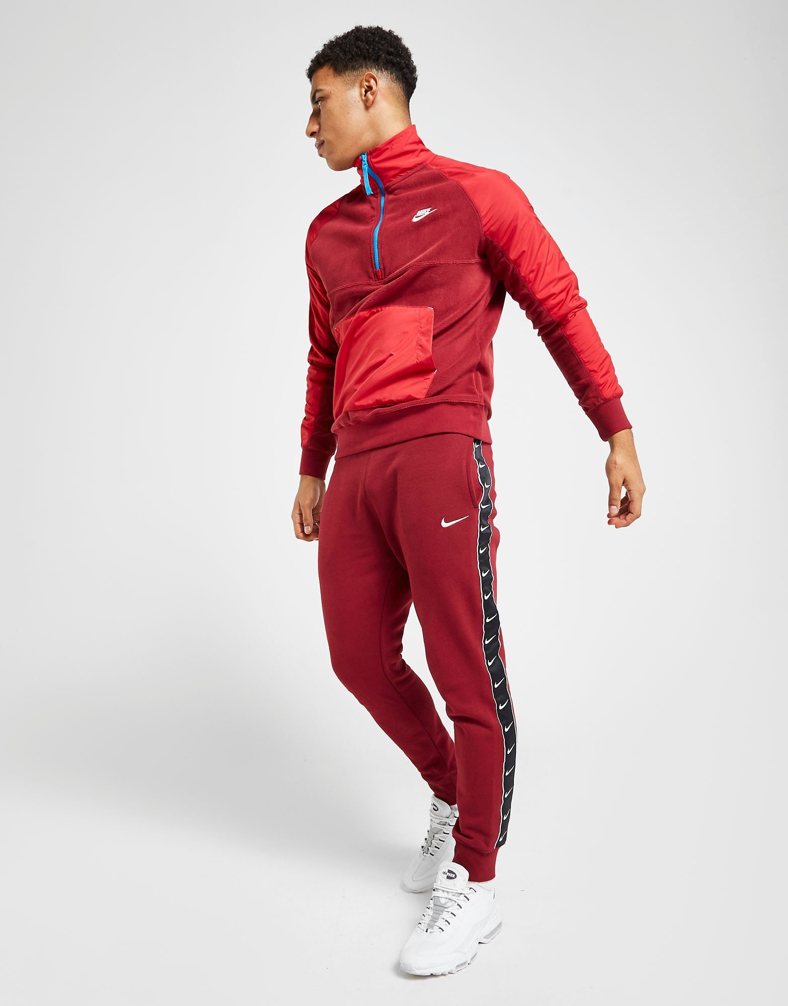 ensemble nike air rouge
