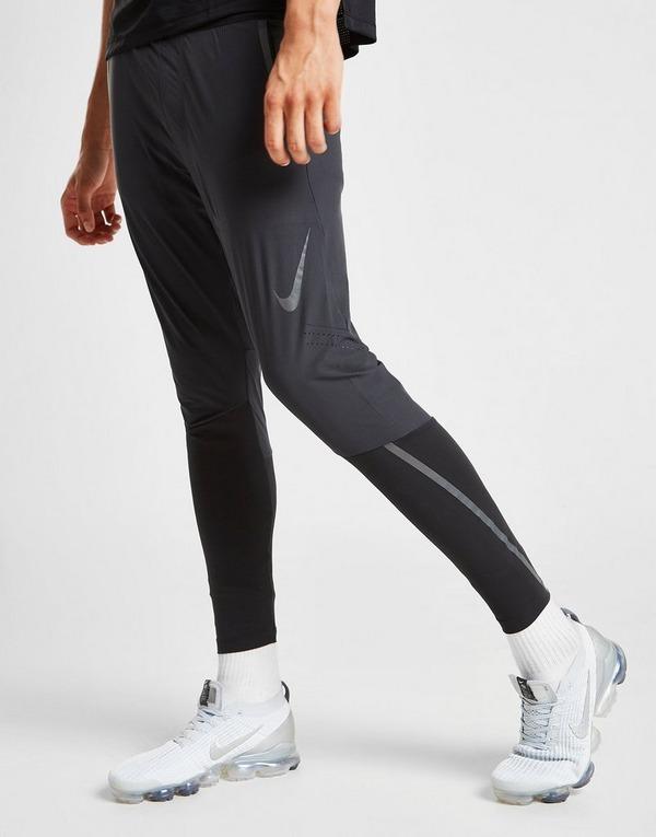 Buy Black Nike Swift Woven Track Pants   JD Sports