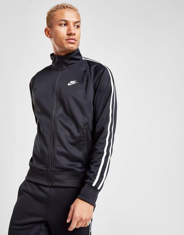 Acherter Noir Nike Haut de Survêtement Heritage N98 Zippé